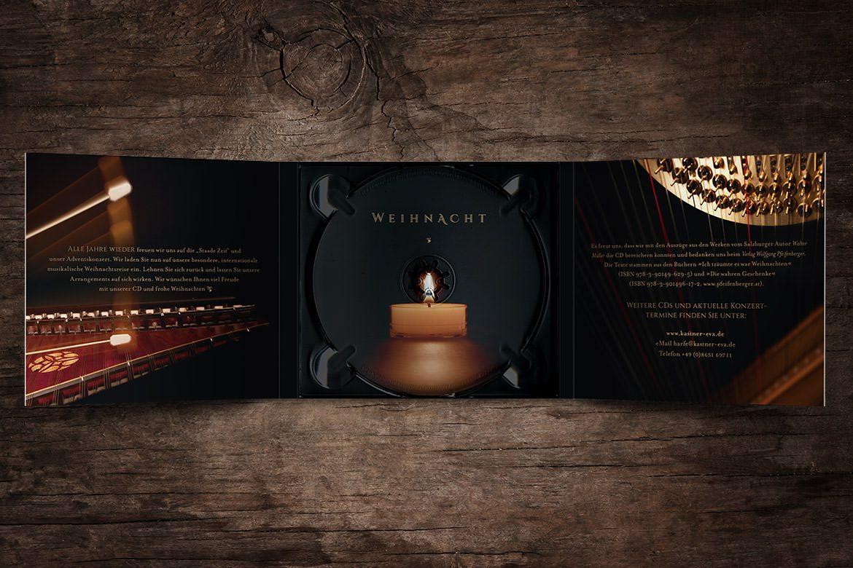 CD »Weihnacht« –Innen